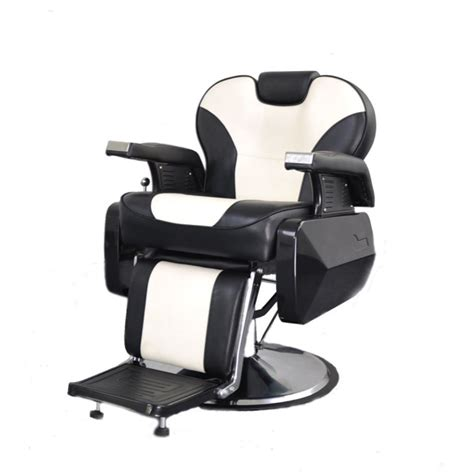 deluxe comfort reclining barber chair