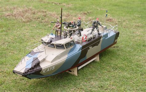 Rc Boats Military by Rc Huge Ready To Run Cb 90 Riverine Command Boat Us Navy