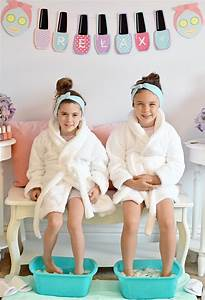 How to Host a Spa Day for Kids - Project Nursery