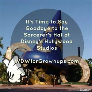 Removal of Sorcerer's Hat at Disney's Hollywood Studios ...