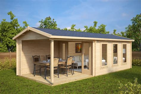 Your S House Garden City garden summer house with veranda e 12m 178 44mm 3 x 7