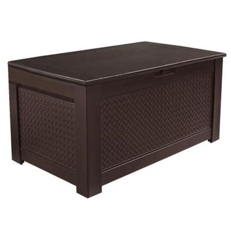 Rubbermaid Deck Box Home Depot by Rubbermaid Large Deck Box Home Depot Xalapa Storage Units