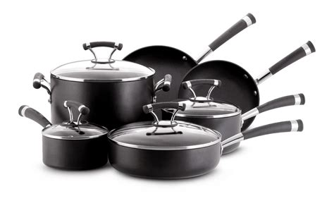 kitchenaid 82545 12 cookware set gray sears outlet