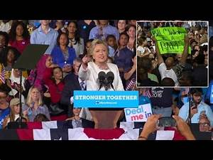 News: Hillary Shows Anger At Heckler Who Yells 'Bill Cl ...