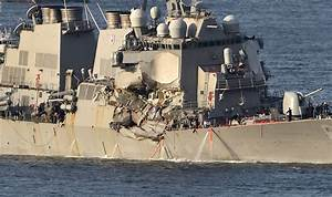 7 sailors missing from USS Fitzgerald after collision off ...