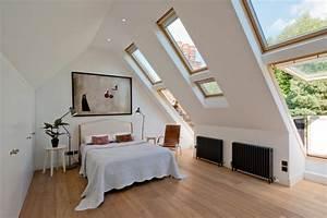 Fenster Modern Gestalten : schlafzimmer mit dachschr ge gestalten 23 wohnideen ~ Markanthonyermac.com Haus und Dekorationen