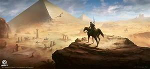 Xu Zhang - Assassin's Creed Origins concept art