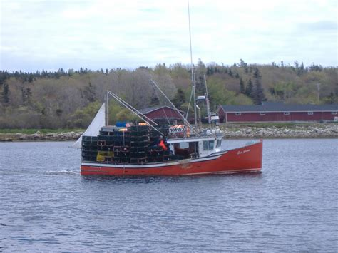 Toy Lobster Boat by Boats Wharves Lobster Ca