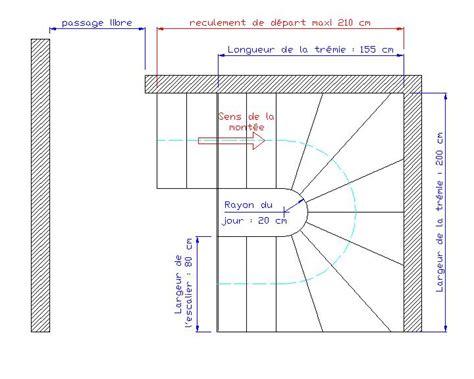 comment dessiner un escalier helicoidal