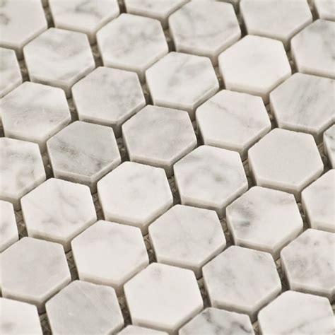 carrara marble hexagon tile design trends honeycomb