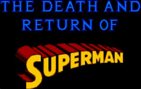 AuthorQuest Death and Further Death of Superman