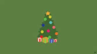 Christmas Minimalist Wallpaper By Greenmapple17 On Deviantart