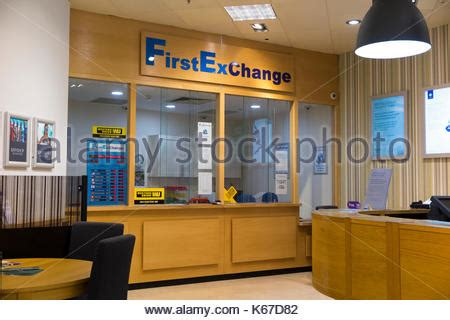 bureau de change office operated by moneycorp terminal 3 three at stock photo royalty free