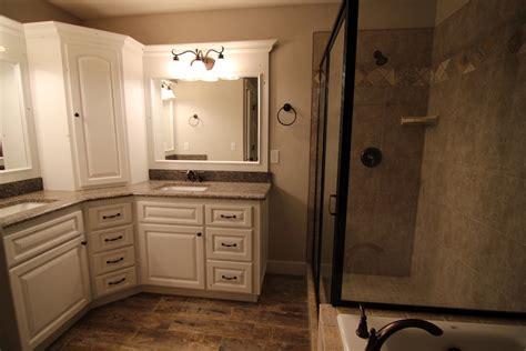 quot l quot shape master bath vanity building design ideas bath vanities master bath