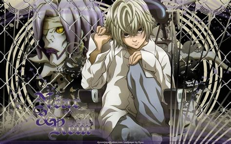 Death Note Images Near And Rem Hd Wallpaper And Background