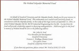 The Waleed Iskandar Stanford Fund