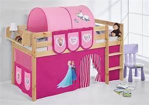 Vorhang über Bett : spielbett hochbett kinderbett kinder bett jelle natur vorhang ebay ~ Markanthonyermac.com Haus und Dekorationen
