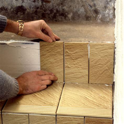 comment faire un escalier en carrelage maisonbrico
