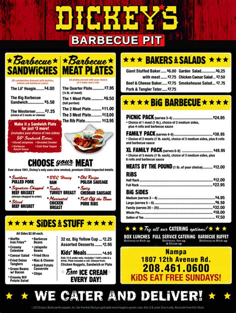 dickey s barbecue pit na id 83686 6106 yellowbook
