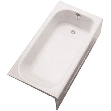 toto fby1515rpno 12 enameled cast iron bathtub sedona