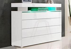 Kommode Breite 100 Cm : kommode breite 110 cm online kaufen otto ~ Markanthonyermac.com Haus und Dekorationen