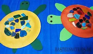 Basteln Mit Mosaiksteinen : dekorative schildkr te basteln mit kindern aus papiertellern ~ Whattoseeinmadrid.com Haus und Dekorationen