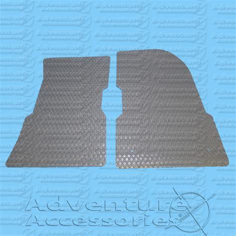 hummer h1 rubber floor mats front gray