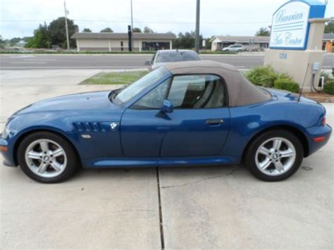Find Used 2000 Bmw Z3 Roadster Convertible 2-door 2.5l In