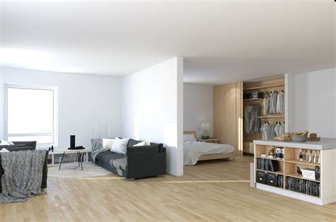 Studio Apartment : Scandinavian & Parisian Apartments In White