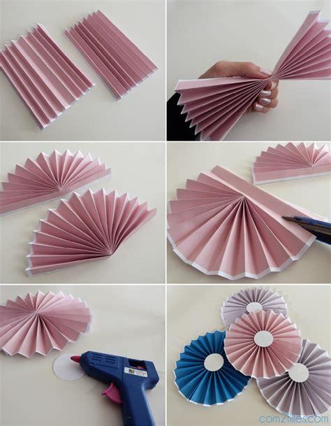 diy le tuto des rosaces en papier niveau facile
