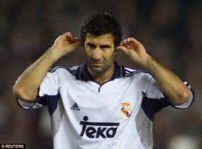 Barcelona won't forgive Luis Figo as Champions League ...