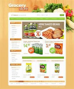 Modèle web #25384 pour une épicerie
