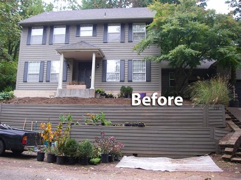 Slope Yard Ideas by Landscaping Ideas Front Yard Steep Slope Garden Design