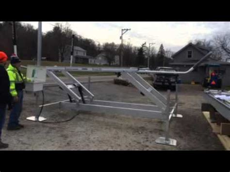 Sunstream Boat Lift Youtube by Sunstream Sl8012fr Sunlift Boat Lift Assembled And In