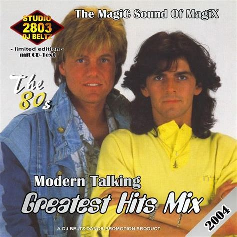 greatest hits mixes the 80s modern talking mp3 buy tracklist
