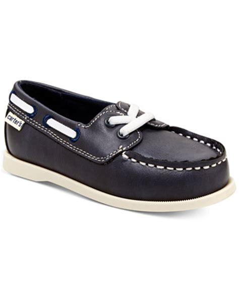 Little Boys Boat Shoes by Carter S Little Boys Or Toddler Boys Ian Boat Shoes