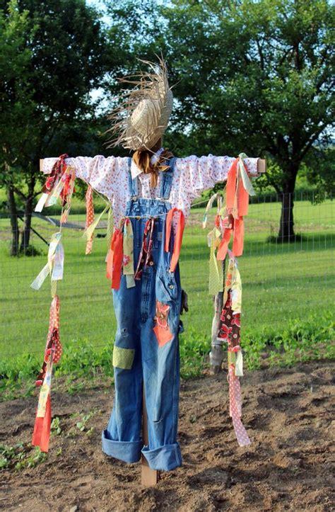 Diy Scarecrow For Garden creative scarecrow ideas for your garden