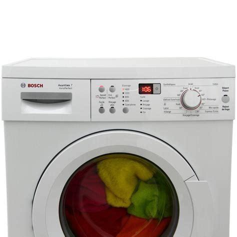 test bosch waq28361ff avantixx 7 varioperfect lave linge ufc que choisir