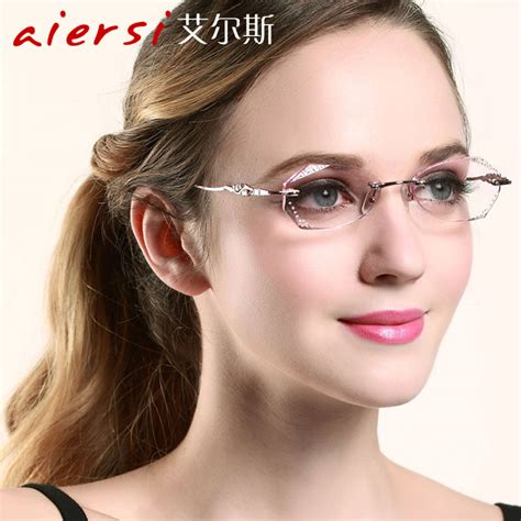 lunettes femme sans monture