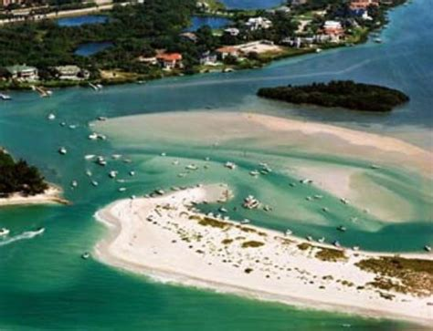 Panama City Beach Speed Boat Rentals by Aerial View Of 3 Rooker Island Rent A Boat From Island