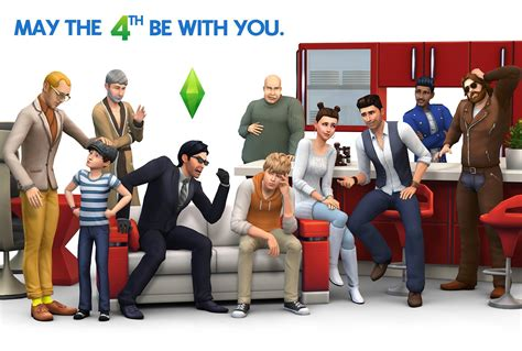 Brand New The Sims 4 Render!  Sims Globe