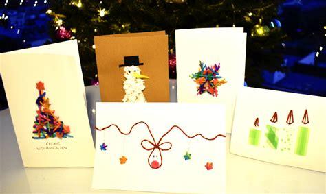 Diy Weihnachtskarten Basteln