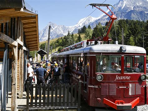 tramway du mont blanc in gervais les bains alps savoie mont blanc