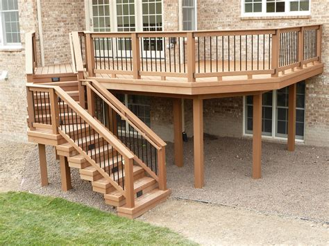 deck stair railing studio design gallery best design
