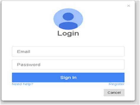 Bootstrap Snippet Bootstrap Google Plus Style Login Form