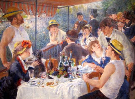 Luncheon Of The Boating Party Npr by El Arte De No Fingir Poes 237 Aci 233 N