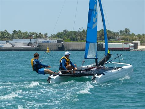 Catamaran Sailing Dubai by Catamaran Lessons Rental Palm Jumeirah Duba 239 Seayou Uae