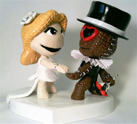 custom cake toppers custom mii wedding cake toppers