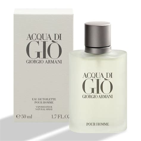 acqua di gio giorgio armani eau de toilette pour homme 50ml 1 7oz new sealed 37332155078 ebay