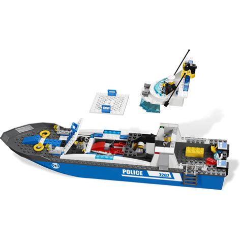 Lego City Police Boat Instructions by Lego Police Boat 7287 Brick Owl Lego March 233